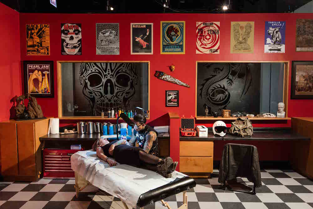 Field Museum Tattoo Parlor