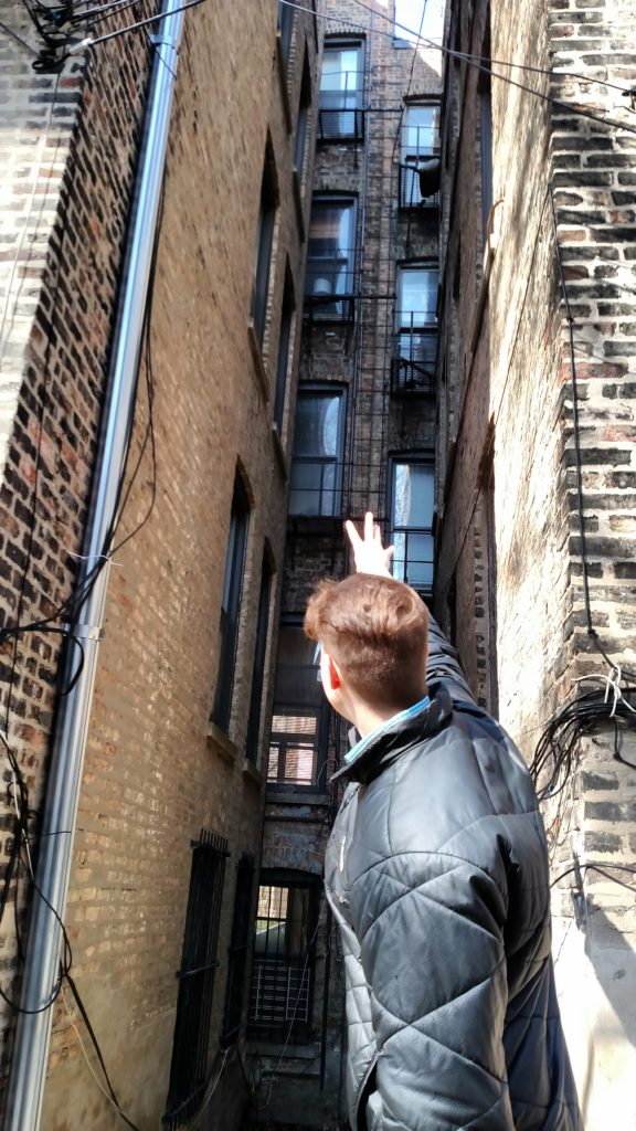 Zach Zimmerman THE TWINK ON THE FIRE ESCAPE