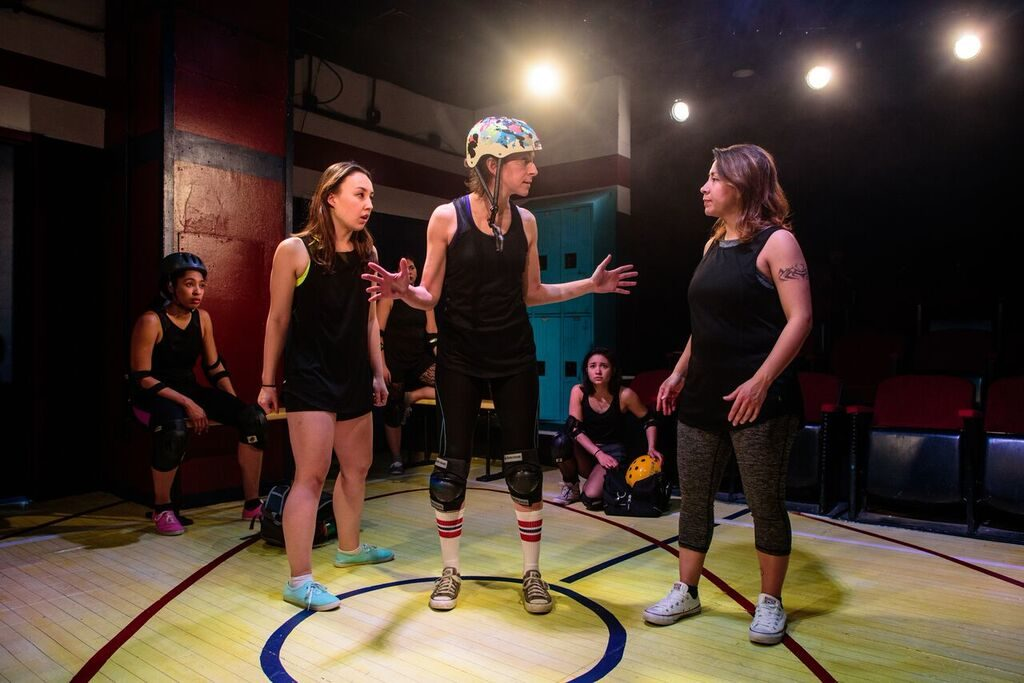 Pride Films and Plays FOR THE LOVE OF (OR THE ROLLER DERBY PLAY)